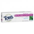 Tom's of Maine Antiplaque & Whitening Toothpaste, Peppermint- 5.5oz