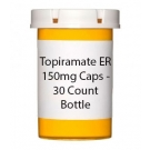 Topiramate ER 150mg Caps - 30 Count Bottle