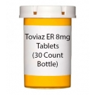 Toviaz ER 8mg Tablets (30 Count Bottle)