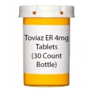 Toviaz ER 4mg Tablets (30 Count Bottle)