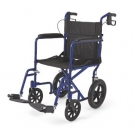 Drive Medical 19 inch Lightweight Aluminum Transport Chair with Open Sides ***1 Left in Stock***PICK UP ONLY***