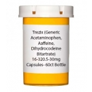 Trezix (Generic Acetaminophen, Caffeine, Dihydrocodeine Bitartrate) 16-320.5-30mg Capsules- 60ct Bottle