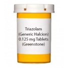 Triazolam (Generic Halcion) 0.125 mg Tablets (Greenstone)