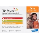 Trifexis For Dogs 10.1 - 20lbs - 6 Count Pack(Orange)