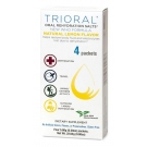 Trioral Oral Rehydration Salts, 0.72g- 4 Packets (Lemon Flavor)