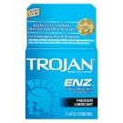 TROJAN ENZ Premium Lubricant Latex Condoms - 3ct