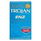 Trojan Enz Spermicidal Lube Condom- 12ct