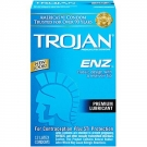 Trojan Enz Lube Condoms- 12ct