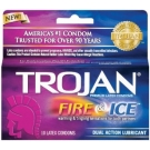 Trojan Fire & Ice Condoms- 10ct