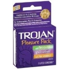 Trojan Pleasure Pack Assorted Condoms- 3ct