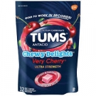 Tums Chewy Delights Very Cherry - 32ct