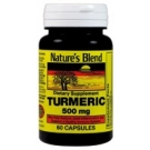 Nature's Blend Turmeric 500 mg Dietary Supplement Capsules - 60ct