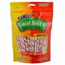 Dingo Twist Sticks, Chicken in the Middle- 50ct ** Extended Lead Time **