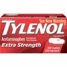 TYLENOL Extra Strength Pain Reliever & Fever Reducer 500 mg Caplets - 100ct