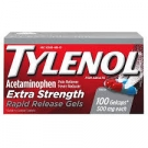 Tylenol Extra Strength 500 mg Rapid Release Gelcaps - 100ct