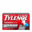 Tylenol Extra Strength 500 mg Rapid Release Gelcaps - 24ct