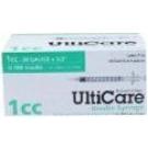UltiCare Insulin Syringe 28 Guage, 1cc, 1/2