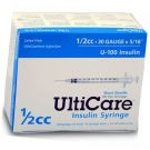 UltiCare Insulin Syringe, 30 Gauge, 1/2cc, 5/16
