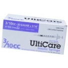 UltiCare Insulin Syringe, 30 Gauge, 3/10cc, 5/16