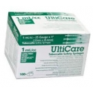 UltiCare TB Syringe 25 Gauge, 1cc, 1