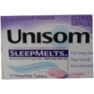 Unisom SleepMelts Cherry Flavor - 24ct
