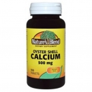 Nature's Blend Oyster Shell Calcium 500mg, 100 ct