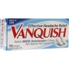 Vanquish Pain Reliever Aid, Coated Caplets - 100 count