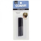 Conair® Styling Essentials Velvet Hair Pins, Black, 12ct- 3 Packs