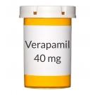 Verapamil 40 mg Tablets