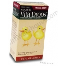 Vita Drops with Iron for Infants - 1.67 fl. oz.