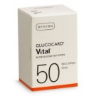 Glucocard Vital Test Strips- 50ct