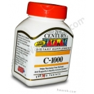 21st Century Vitamin C 1000mg - 110 Tablets
