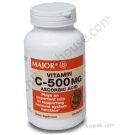 Vitamin C 500mg Tablets 300ct