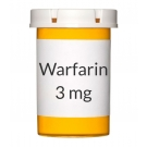Warfarin 3mg Tablets