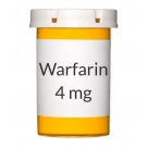 Warfarin 4mg Tablets