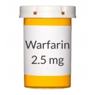 Warfarin 2.5mg Tablets