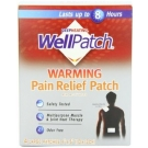 WellPatch Capsaicin Pain Relief Patch, Large- 4ct