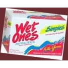 Wet Ones Moist Wipes Fresh Scent Anti Bacterial Singles 24 ct