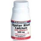 Windmill Calcium 500 Mg Tablets Oyster Shell With Vitamin D 60ct