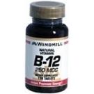 Windmill Vitamin B-12 250 mcg Tablets 100ct