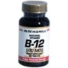 Windmill Vitamin B-12 500 mcg Tablets 60ct