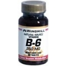 Windmill Vitamin B-6 250 mg Tablets 60ct