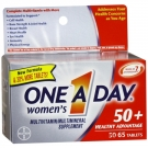 One A Day Women's 50+ Advantage Complete Multivitamin/Multimineral Supplement Tablets- 65ct