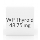 WP Thyroid 48.75mg Tablets