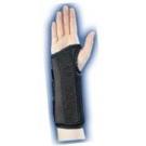 Wrist Brace Composite Black Left Medium-Bell Horn