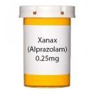 Xanax (Alprazolam) 0.25mg Tablets
