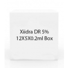Xiidra DR 5% 12X5X0.2ml Box