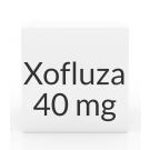 Xofluza 40mg Tablets- 2ct (80mg Dose)