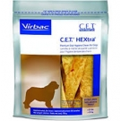 CET HEXtra Oral Hygiene Chews for Extra Large Dogs 50-100lb- 30ct