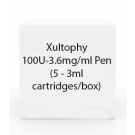 Xultophy 100U-3.6mg/ml Pen (5 - 3ml cartridges/box)